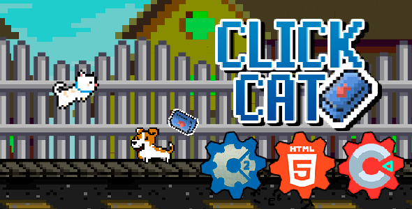 [Free Download] ClickCat – Jogo HTML5 (construct 2 / 3) (Nulled) [Latest Version]