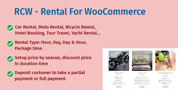 [Free Download] RCW – Rental For WooCommerce (Nulled) [Latest Version]
