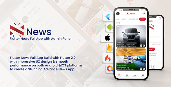 [Free Download] News – Flutter News Full App (Nulled) [Latest Version]