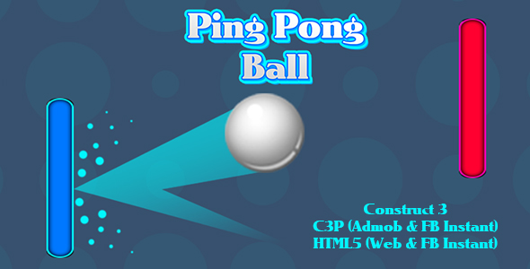[Free Download] Ping Pong Ball Game (Construct 3 | C3P | HTML5) Admob and FB Instant Ready (Nulled) [Latest Version]