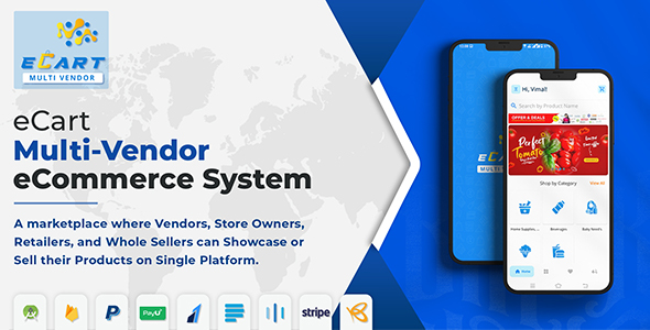 [Free Download] eCart – Multi Vendor eCommerce System (Nulled) [Latest Version]