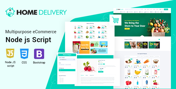 [Free Download] Home Delivery Node JS Script (Nulled) [Latest Version]