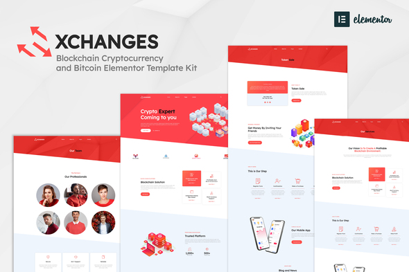 [Free Download] Xchanges – Blockchain Cryptocurrency & Bitcoin Elementor Template Kit (Nulled) [Latest Version]