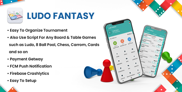 [Free Download] Ludo Fantasy – Real Money Ludo Tournament App (Nulled) [Latest Version]