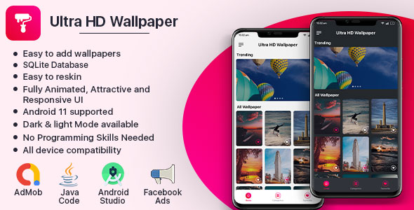[Free Download] Ultra HD Wallpaper (Fully Animated UI) (Nulled) [Latest Version]