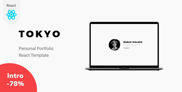 [Free Download] Tokyo – React Personal Portfolio Template (Nulled) [Latest Version]
