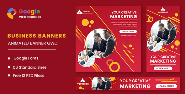 [Free Download] Business Animated Banner GWD (Nulled) [Latest Version]