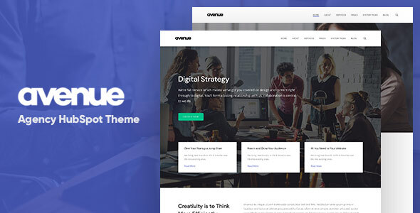 [Free Download] Avenue – Creative Agency HubSpot Theme (Nulled) [Latest Version]