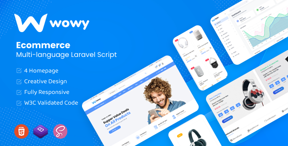 [Free Download] Wowy – Multi-language Laravel eCommerce Script (Nulled) [Latest Version]
