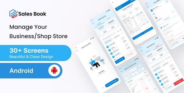 Salesbook – Mobile POS Inventory Android Ui Kit (Nulled) [Latest Version] thumbnail