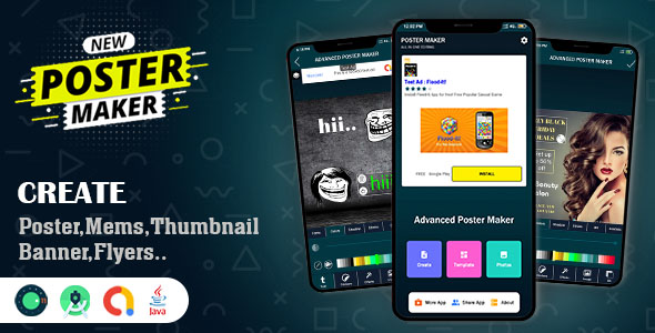 Advanced Poster & Memes Maker App Source Code (Nulled) [Latest Version] thumbnail
