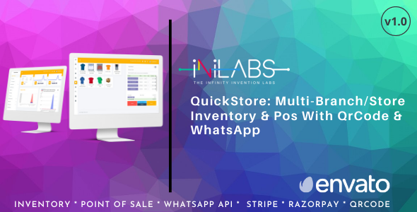 [Free Download] QuickStore: Multi Branch/Store Inventory & Pos With QrCode & WhatsApp (Nulled) [Latest Version]