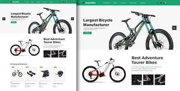SuperBike – Bicycle Magento Theme (Nulled) [Latest Version] thumbnail