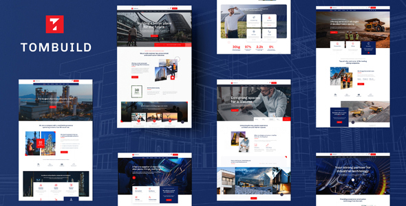 Tombuild – Construction & Engineering PSD Template (Nulled) [Latest Version] thumbnail