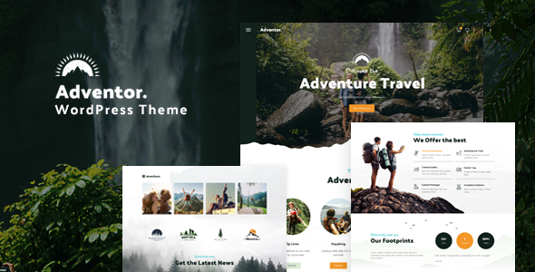 Adventor – Travel and Adventure WordPress Theme (Nulled) [Latest Version] thumbnail