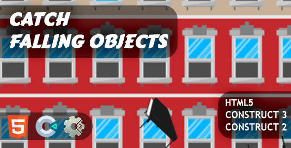 [Free Download] Catch Falling Objects HTML5 Construct 2/3 (Nulled) [Latest Version]