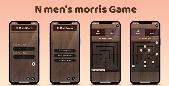 N Men's Morris Game Android App (Nulled) [Latest Version] thumbnail