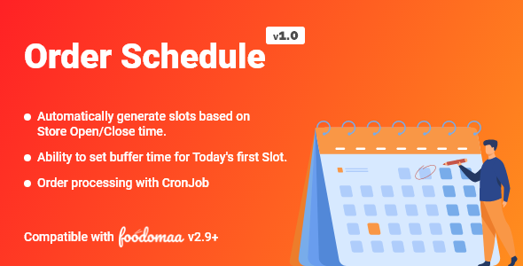 Order Schedule Module for Foodomaa (Nulled) [Latest Version] thumbnail