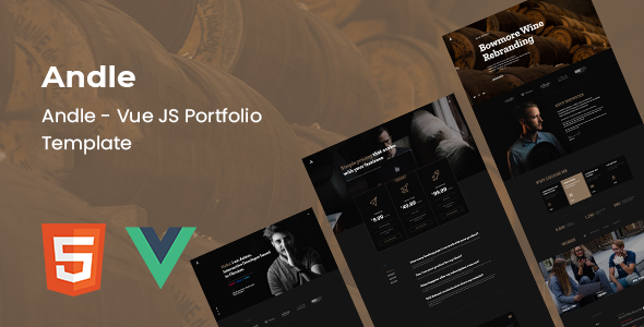 Andle – Vue JS Portfolio Template (Nulled) [Latest Version] thumbnail