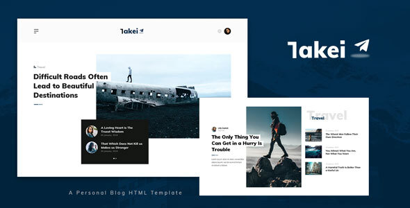 Takei – Blog and Magazine HTML Template (Nulled) [Latest Version] thumbnail
