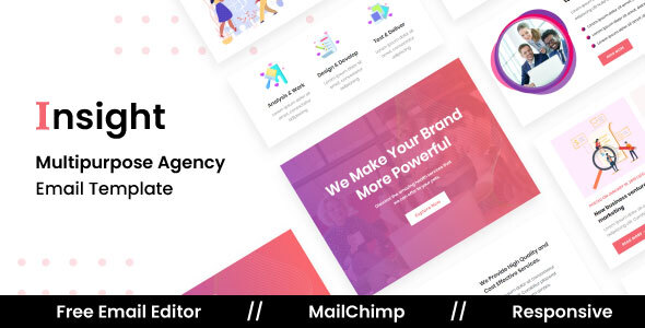 Insight Agency – Multipurpose Responsive Email Template (Nulled) [Latest Version] thumbnail