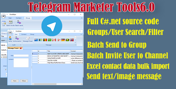 [Free Download] Telegram Marketer Tools 6 (Nulled) [Latest Version]