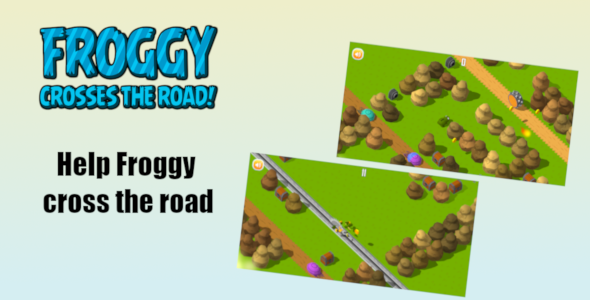 Froggy crosses the road – Complete Unity Game (Nulled) [Latest Version] thumbnail