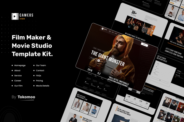 [Free Download] Cameos | Film Maker & Movie Studio Elementor Template Kit (Nulled) [Latest Version]