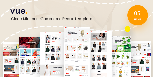 Vue – Clean Minimal eCommerce Redux Template (Nulled) [Latest Version] thumbnail
