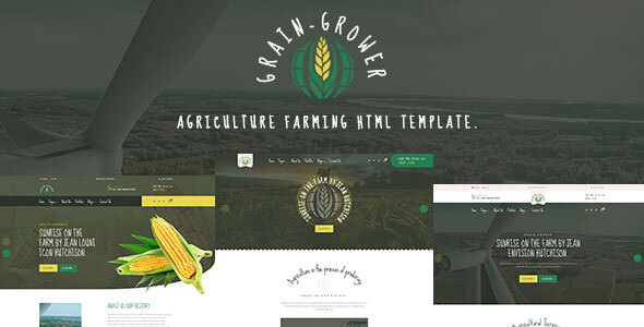 [Free Download] Grain Grower – Agriculture Farm HTML Template (Nulled) [Latest Version]