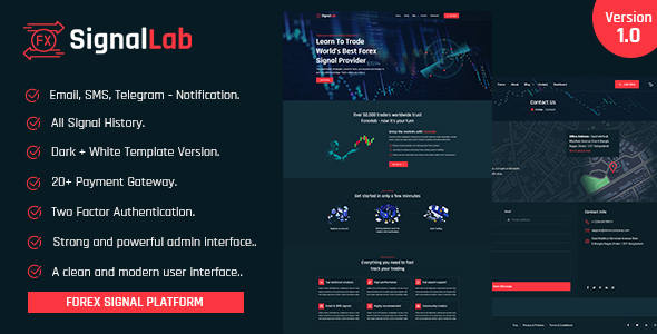 [Free Download] SignalLab – Forex And Crypto Trading Signal Platform (Nulled) [Latest Version]